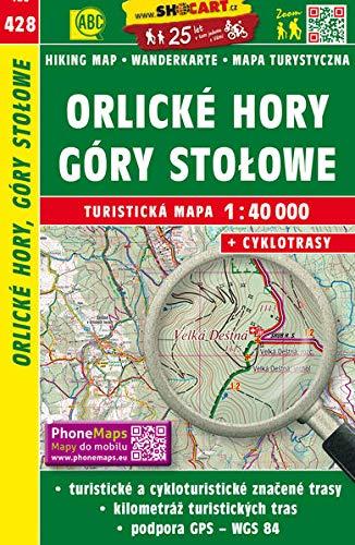 Orlicke hory, Gory Stolowe: Turisticke Mapy Cesko 1:40.000