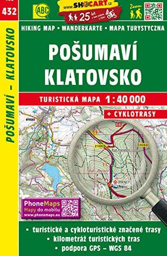 Posumavi - Klatovsko 1 : 40 000: