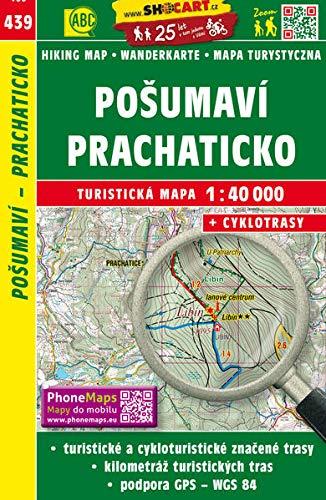 Wanderkarte Tschechien Posumavi, Prachaticko 1 : 40