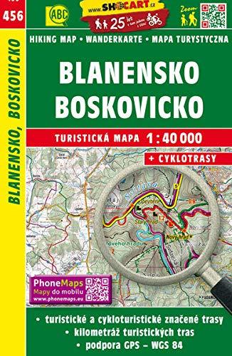 Blanensko, Boskovicko: Turisticke Mapy Cesko 1:40.000