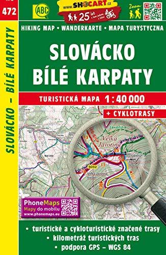 Slovacko - Bile Karpaty: Turisticke Mapy Cesko