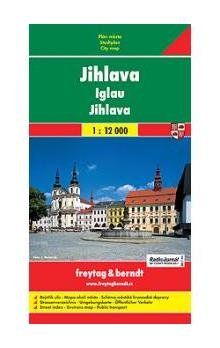 9788073160593: Jihlava (Iglau, Czech Republic) 1:12,000 Street Map