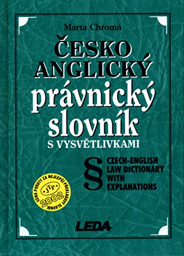 9788073350215: Czech-English Law Dictionary