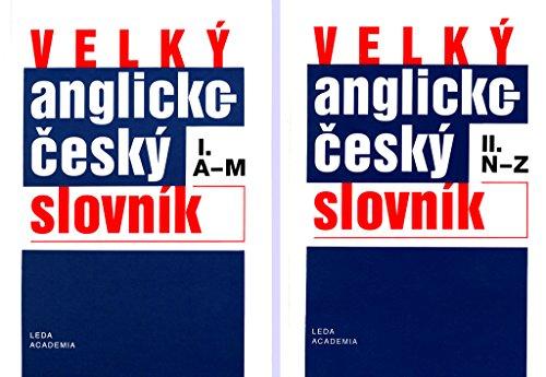 Large English-Czech Dictionary / Velky anglicko-cesky slovnik (2 Volumes): Hodek, Bretislav, ...