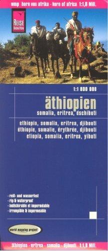 9788074890055: Horn of Africa: Ethiopia - Eritrea - Somalia - Djibouti 1:1,800,000 Travel Map, waterproof, GPS-compatible, REISE