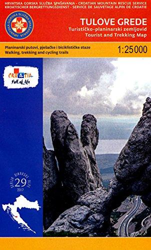 9788079983264: Croatia - Dalmatia Coast 1:175,000 Recreation Map, waterproof, GPS-compatible REISE