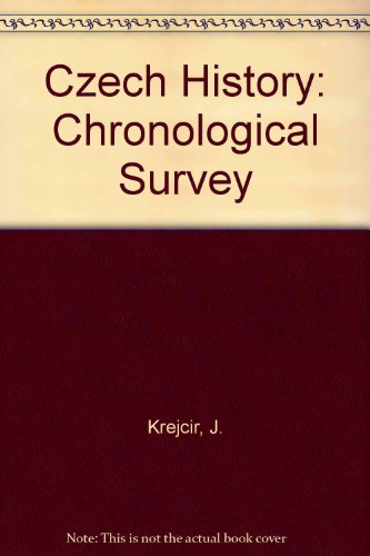 Czech History: Chronological Survey: J. Krejcir