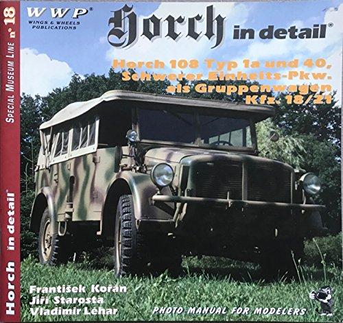 Horch in Detail Horch 108 Type 1a: Koran, Frantisek &