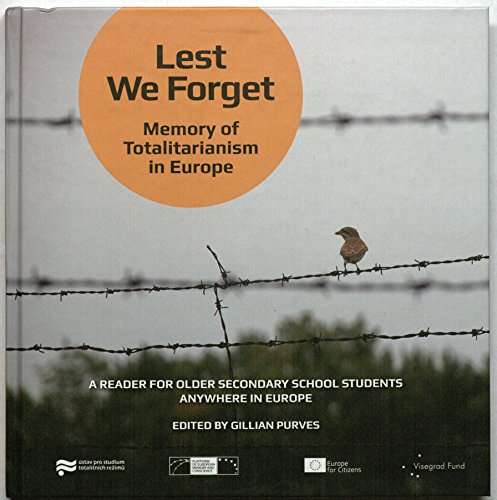 9788087211793: Lest We Forget: Memory of Totalitarianism in Europe