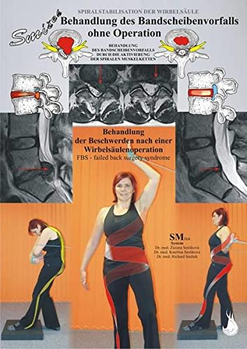 9788087568637: Behandlung des Bandscheibenvorfalls ohne Operation: Behandlung des Bandscheibenvorfalls durch die Aktivierung der spiralen Muskelketten