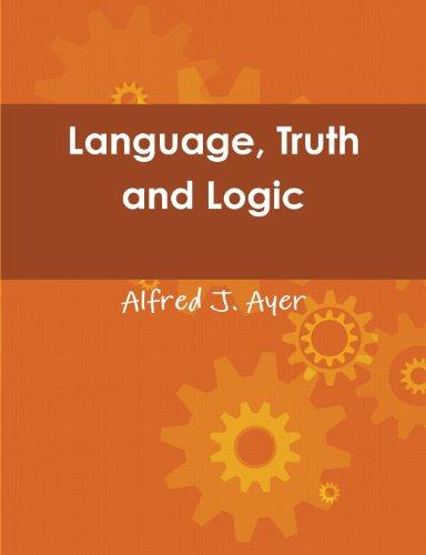 9788087830666: Language, Truth and Logic