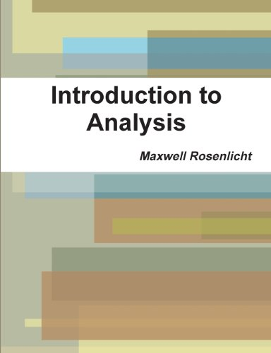 9788087830734: Introduction to Analysis