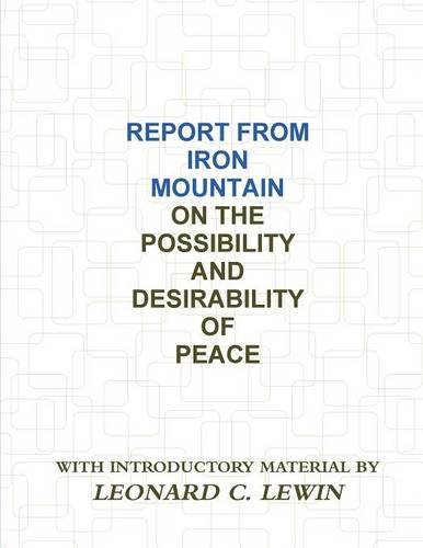 9788087888988: Report from Iron Mountain