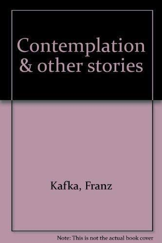 9788090125711: Contemplation & other stories