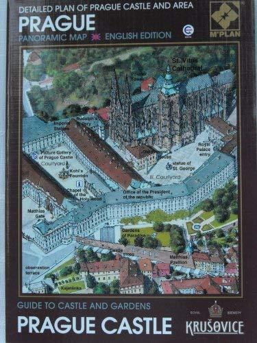 Prague panoramic map, detailed plan of Prague: Rimal, Vladimir