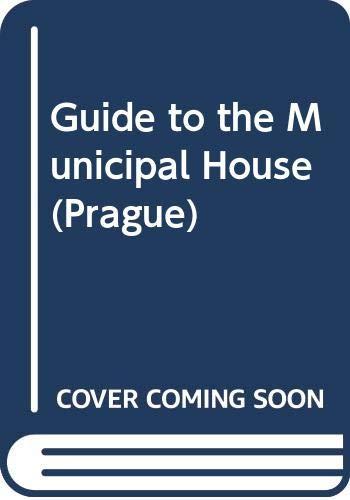 9788090232754: Guide to the Municipal House (Prague)