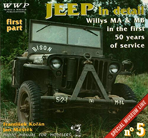 Jeep In Detail: Willys MA & MB In the First 50 Years of Service: Koran, Frantisek and Jan ...