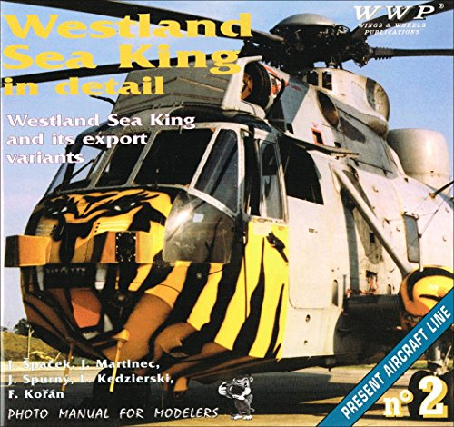 9788090267763: Westland Sea King in Detail (Photo Manual for Modelers)