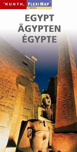 9788090460027: Egypt 1:800 000 Travel Map, laminated, MAGNUM, 2011 edition