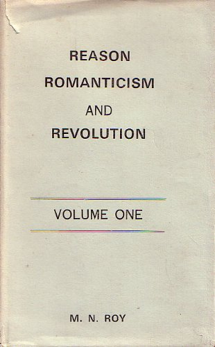 9788120201675: Reason, Romanticism and Revolution