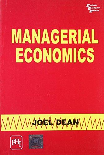 9788120301160: Managerial Economics