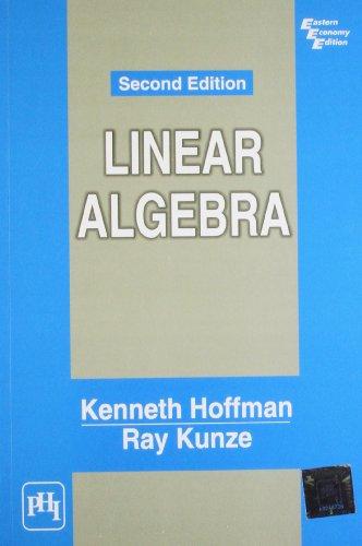 9788120302709: Linear Algebra (2nd Edition)