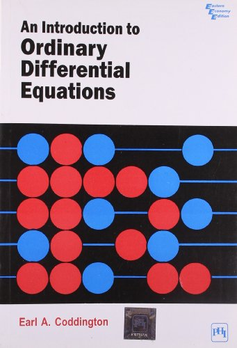 9788120303614: An Introduction to Ordinary Differential Equations (Dover Books on Advanced Mathematics)