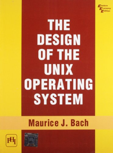Design Of The Unix Operating System By Maurice Bach Pdf