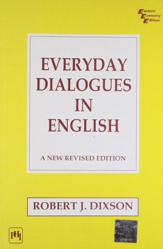 9788120305663: Everyday Dialogues in English ; A New Revised Edition