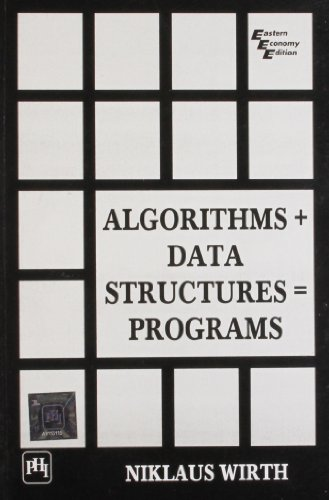 9788120305694: Algorithms + Data Structures = Programs