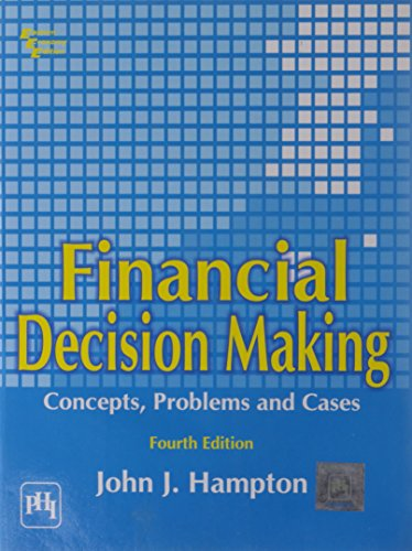 9788120306035: Financial Decision Making : Concepts, Problems and Cases