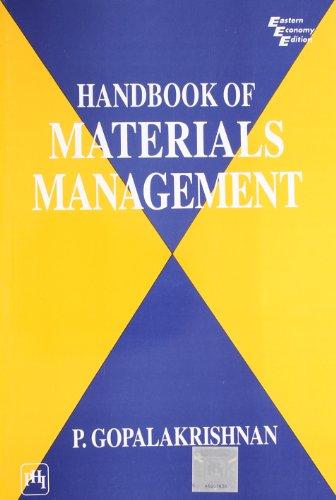 9788120307094: Handbook of Materials Management