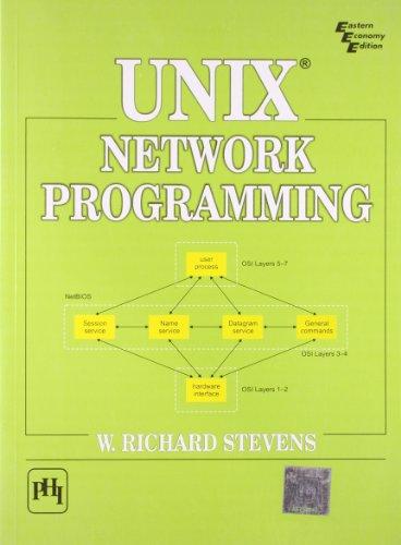 Unix® Network Programming: W. Richard Stevens