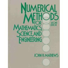 9788120308459: Numerical Methods for Mathematics, Science & Engineering 2nd Ed