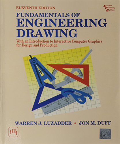 Fudamentals of Engineering Drawing: With an Introduction: Jon M. Duff,Warren