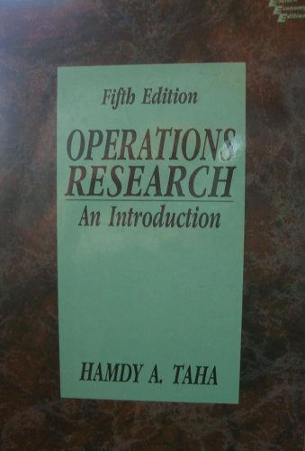 9788120309500: Operations Research: An Introduction