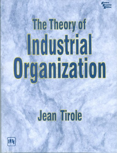 9788120310490: The Theory of Industrial Organization
