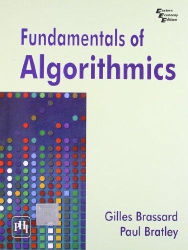 Fundamentals of Algorithmics: BRASSARD