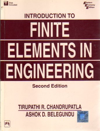 9788120312210: Introduction to Finite Elements in Engineering