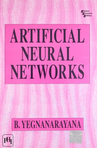 9788120312531: Artificial Neural Networks