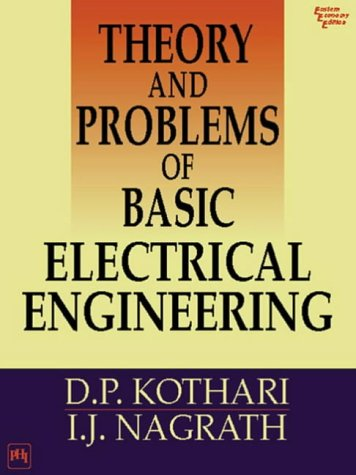 Theory And Problems Of Basic Electrical Engineering By D P Kothari