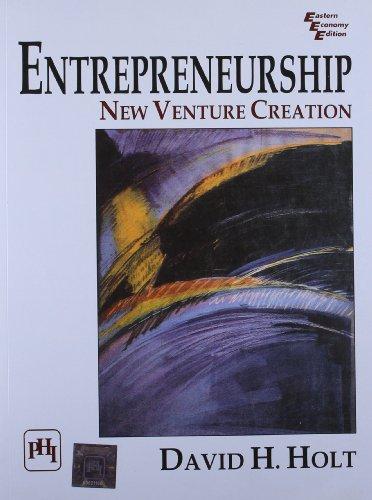 9788120312814: Entrepreneurship: New Venture Creation