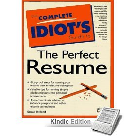 9788120314016: The Complete Idiot'S Guide To The Perfect Resume