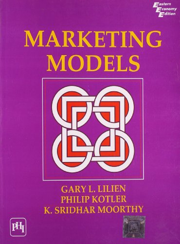 Marketing Models: Gary L. Lilien,K.