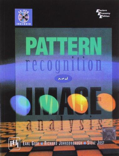Pattern Recognition And Image Analysis, Gose, Johnsonbaugh: GOSE, JOHNSONBAUGH &