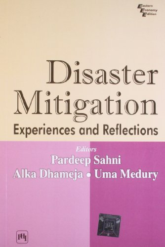 9788120319141: Disaster Mitigation: Experiences and Reflections