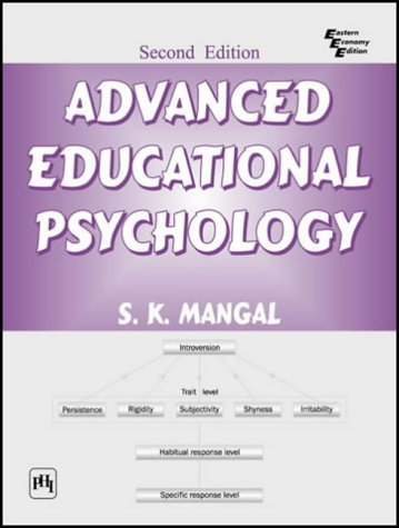 Advanced Educational Psychology Second Edition By Sk Mangal Phi