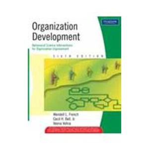 9788120320437: Organization Development