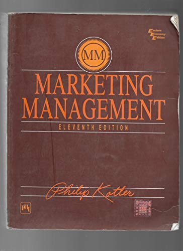 9788120320833: Marketing Management