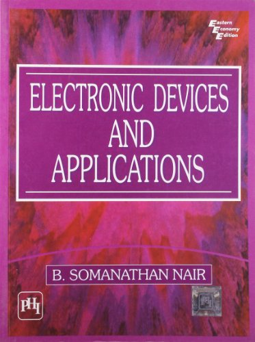 Electronic Devices and Applications: B. Somanathan Nair